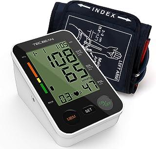 BEAN Tensiómetro de Brazo Monitor de presión arterial digital automático para el brazo superior