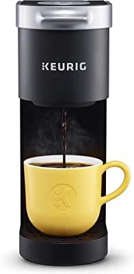 Keurig K-Mini Coffee Maker, Single Serve K-Cup Pod Coffee Brewer, 6 to 12 Oz. Brew Sizes, Black