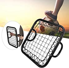 Handheld voetbal rebounder, keeperstrainingsapparatuur Hoogwaardige metalen materialen voor voetbalkeepersreactiesnelheids...