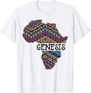 Black History Month T Shirt Genesis Gift Women Men Kids