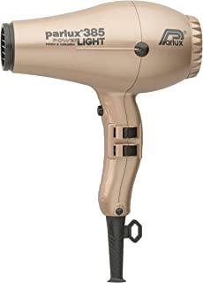 Parlux 385 Powerlight Ceramic & Ionic Dryer 2150W, Light Gold