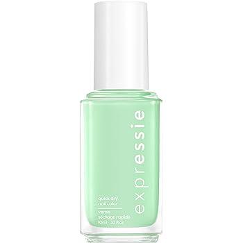 essie expressie Quick-Dry Nail Polish, Mint Green 310 Express To Impress, 0.33 Ounces