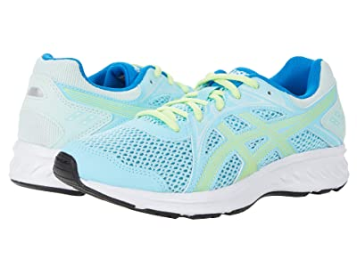 ASICS Kids Jolt 2 (Big Kid) (Ocean Decay/Lime Green) Girls Shoes