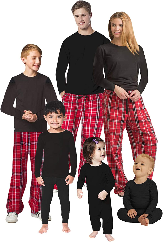 Awkward Styles Christmas Pajamas for Family Xmas Merry Xmas Gifts Matching Christmas Sleepwear Men PJ Set Style 1 L