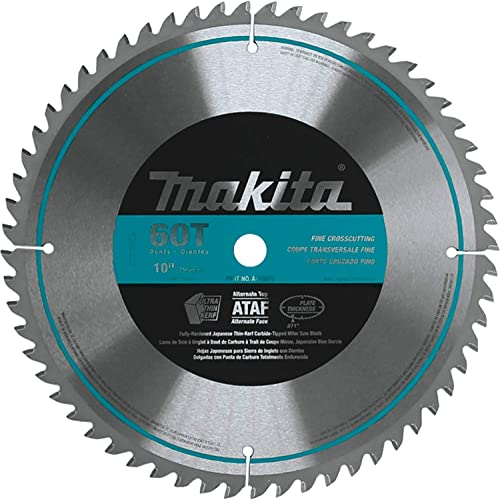 2021 Makita A-93675 10-Inch 60 Tooth online sale Micro high quality Polished Mitersaw Blade, Silver online