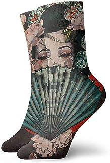 Calcetines casuales de la bandera de Tayikistán con la bandera de Estados Unidos Calcetines de tobillo Vestido corto Calcetines de compresión para mujeres Hombres