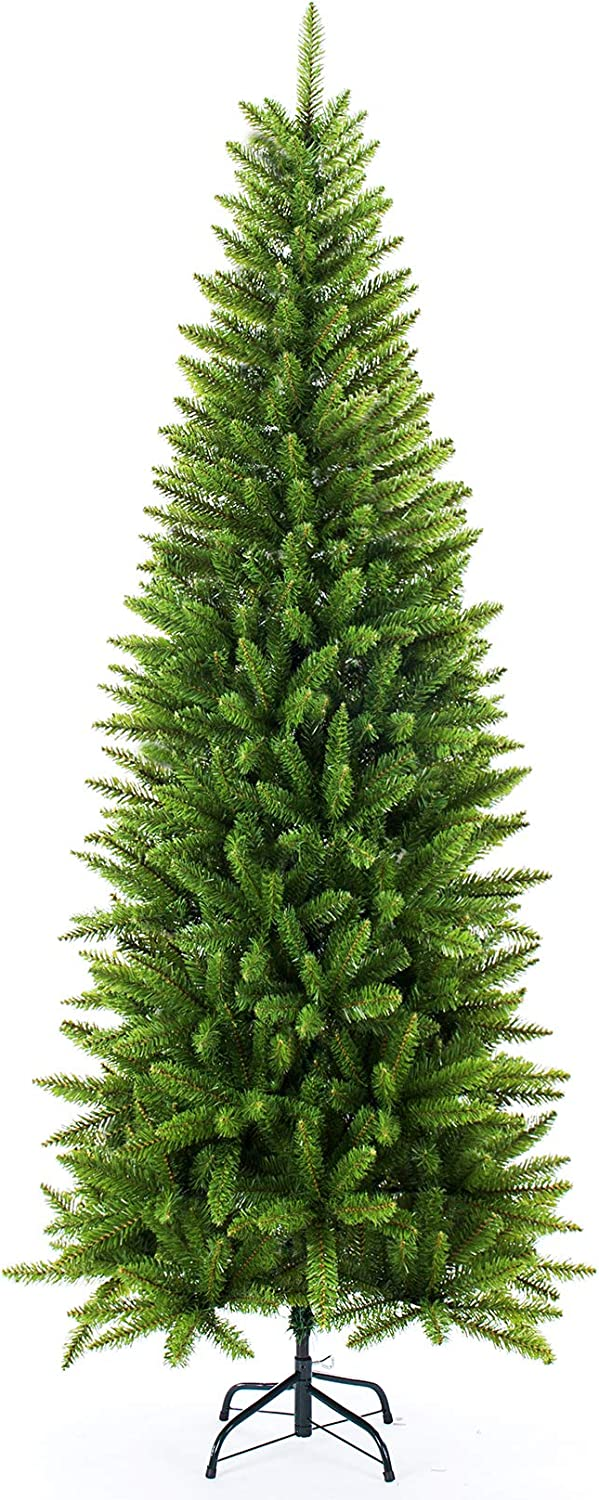 New York Mall Artificial Christmas free shipping Tree Classic Pine Fir 5 7 FT Pencil 6
