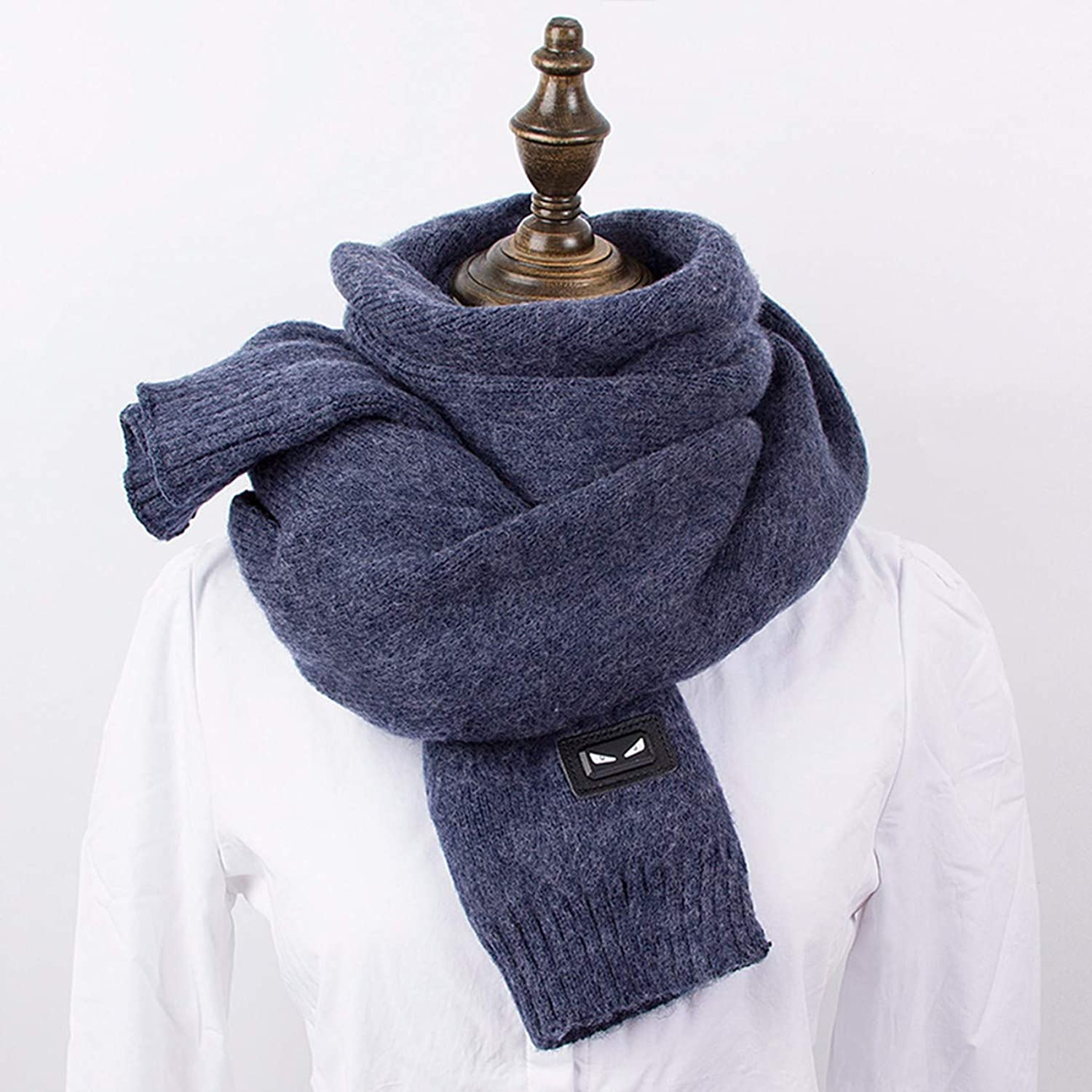Scarf, Student's Thickened Knitted Neck