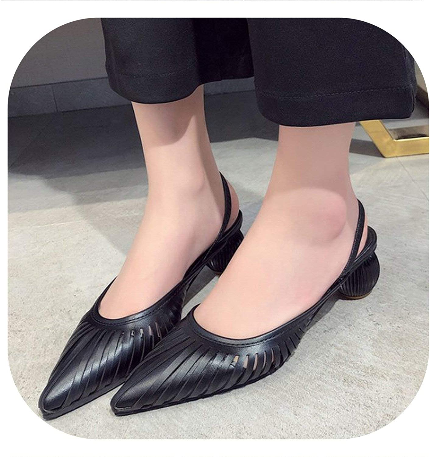 Peony red 2019 Summer Sandals Women Mules shoes Fashion Stripe Slides Ladies Brand Mules Female Luxury Sandals Women shoes