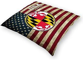 Maryland Terrapins Pillow Terrapins Pillow NCAA Football Pillow HANDMADE In USA