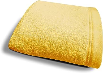 Pr/éface Serviette de Bain 50x100cm Verte 100/% Coton peign/é Haut de Gamme
