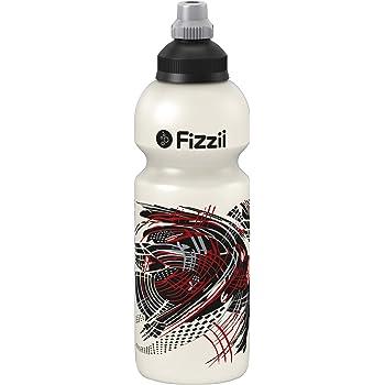 Fizzii Trinkflasche Energy Perlweiß 600ml auslaufsicher
