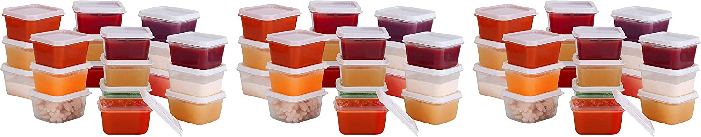 Greenco Mini Food ブランド品 Storage 新作アイテム毎日更新 Containers and Condiment Sauce Conta