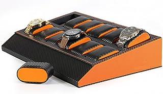 ウォッチコレクションケース 腕時計12本収納/カーボン調