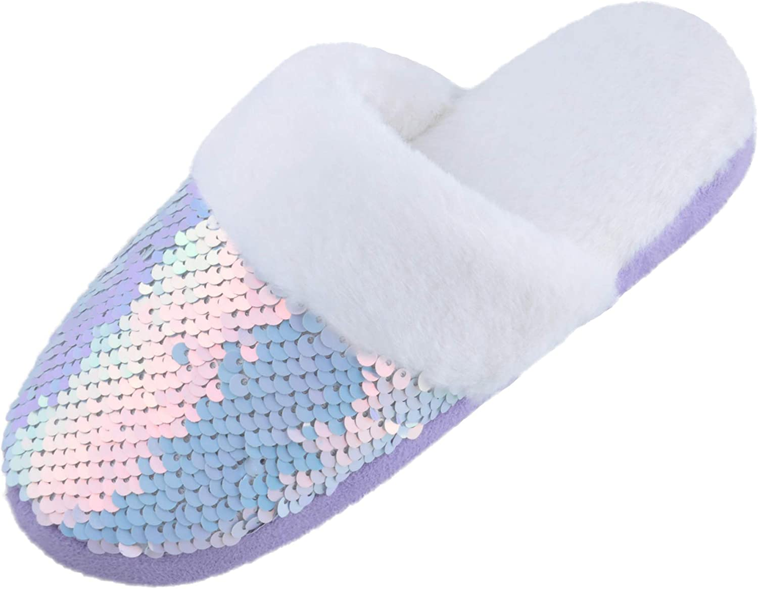 Harebell Sale Special Price Little Kids Girls Slippers Sequins Courier shipping free with Foa Memory Cozy