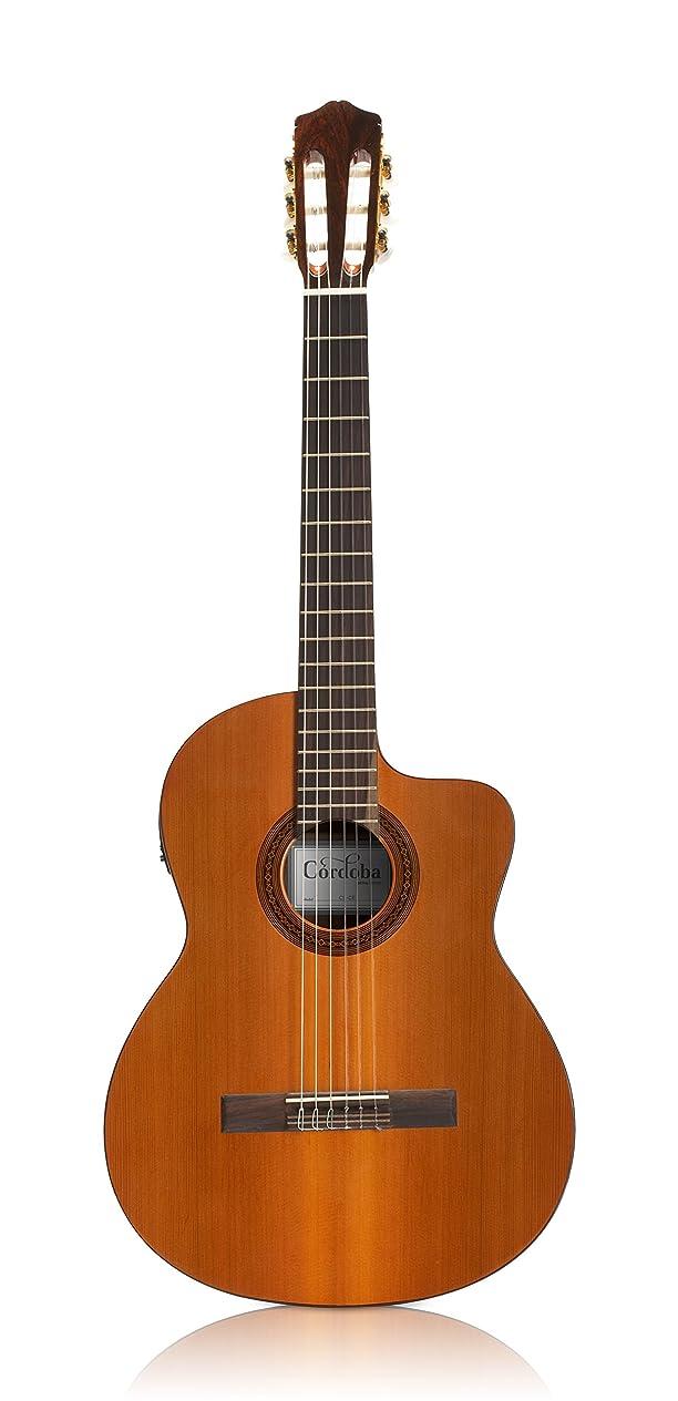 硬さ良さたっぷりCordoba エレガット ギター シンボディ IBERIA シリーズ C5-CET