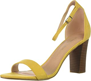 71d4e6b26ed Amazon.com  Yellow Women s Heeled Sandals