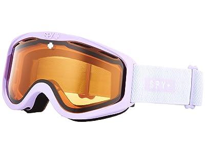Spy Optic Cadet (Herringbone Lavendar Hd Ll Persimmon) Goggles