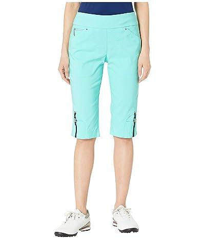 Jamie Sadock 24.5 Skinnylicious Pull-On Knee Capris (Pacifica) Women
