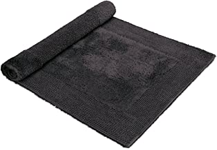 Möve Loft Tufted Bath mat 60 x 100 cm Made of 100% Cotton, Graphite