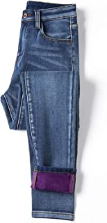 Jeans Warm Jeans Mujer Cintura Alta Casual Ladies Pantalones Mujer Jeans Mujer Pantalones Plus Size 40
