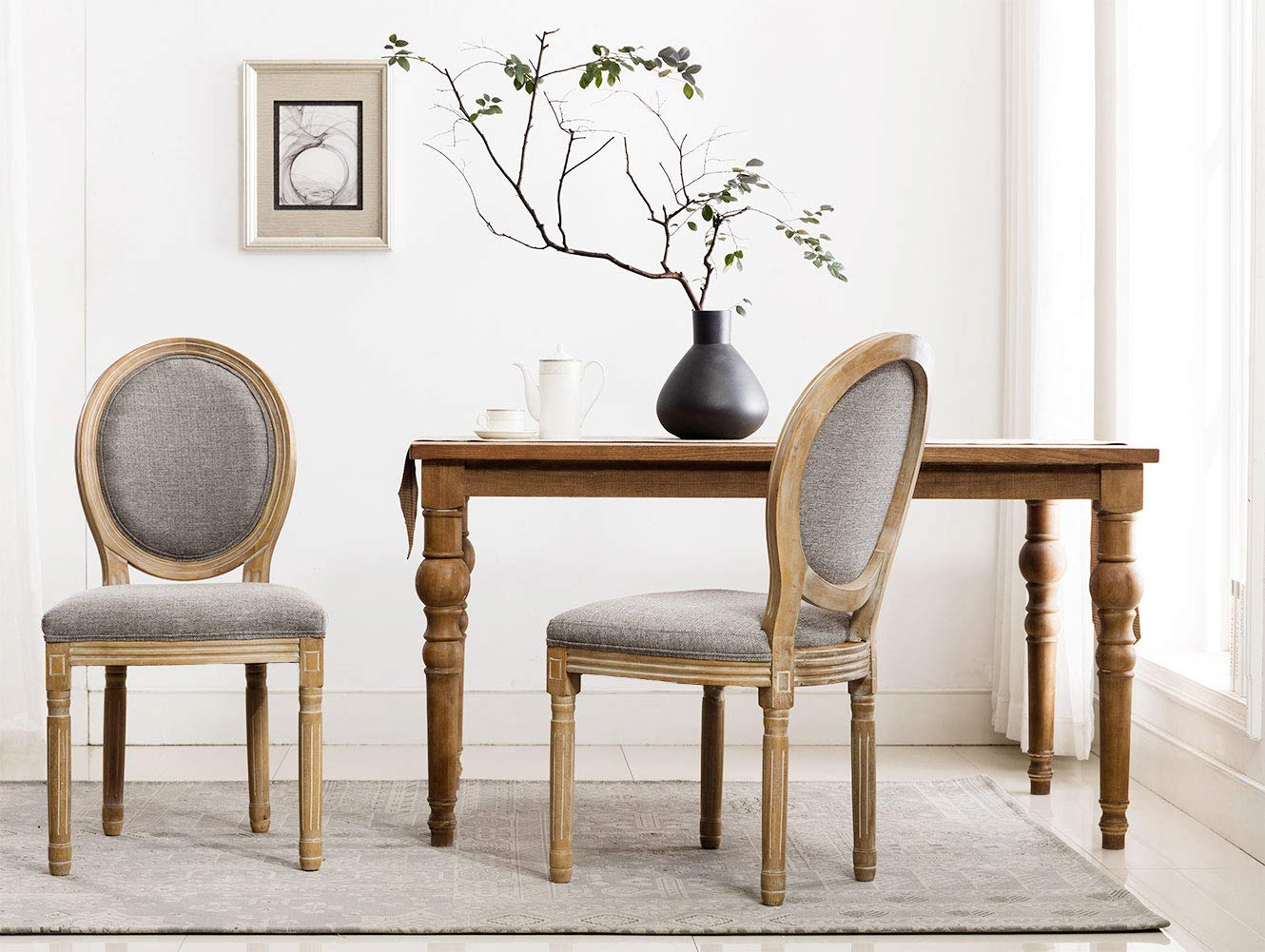 rustic dining chairs - HD 1024×771