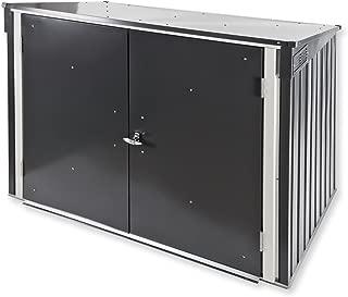 DuraMax 5 x 3 Metal Trash Bin Lean-To Shed Kit