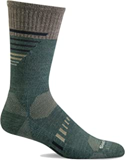 Sockwell Men's Ascend II Crew Moderate Compression Sock