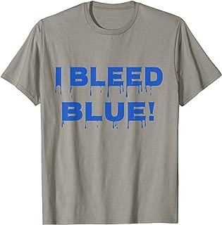 bleed blue dodgers shirt