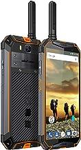 $379 Get Ulefone Armor 3T Rugged Cell Phones Unlocked, IP68 Walkie Talkie Waterproof Smartphone, 10300mAh Big Battery, 5.7 Inch, 4GB+64GB,Android 8.1 4G Dual Sim Compass, NFC, Shockproof, Dustproof (Orange)