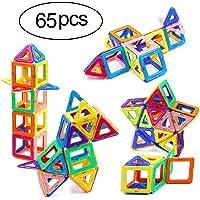 Ranphykx 65 Piece Magnetic Building Blocks Set