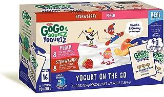 GoGo SqueeZ Gogo Squeeze Yogurt Variety Pouch 16/03 Oz Net Wt 48 Oz,, ()