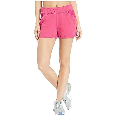 PUMA Yogini 3 Shorts (Fuchsia Purple Heather) Women