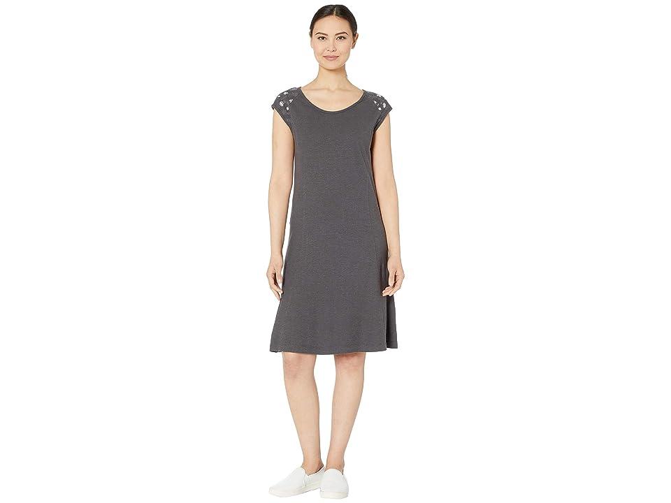 Royal Robbins Flynn Scoop Neck Dress (Asphalt) Women