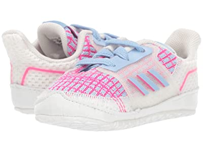adidas Kids UltraCrib (Infant) (Glow Blue/White) Girls Shoes