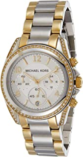 Michael Kors Women's Silver Dial Stainless Steel Band Watch - MK5685