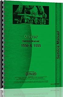 Oliver 1555 Service Manual
