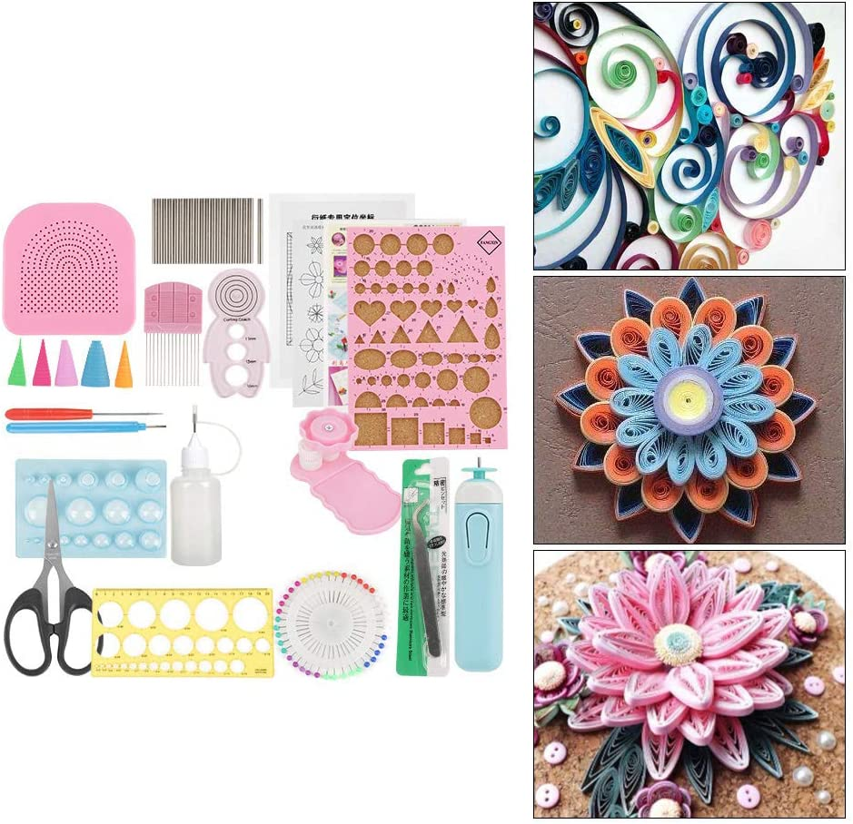Long-awaited Super special price Quilling Tool DIY Set Paper Tools Beg