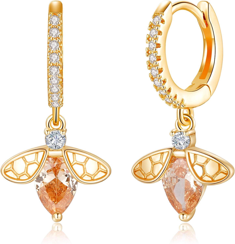 Huggie Hoop Earrings for Women S925 14K Max 53% OFF Silver Post Sterling Go Max 42% OFF
