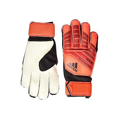 adidas Predator TTRN J FS Goalie Gloves Soccer (Active Red/Solar Red/Black) Gore-Tex Gloves