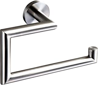 Ambrosya® | Exclusivo toallero de Acero Inoxidable | Cuarto de baño Soporte de baño Toallero Toallero Gancho de Toalla Toallero Barra Toallero (Acero Inoxidable (Cepillado))