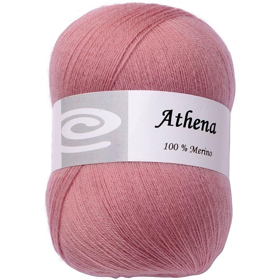 Elegant Yarns Athena Yarn, Misty Rose