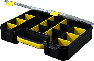 DOY-17 17 Compartment Professional Deluxe Organizer, Yellow