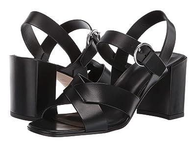 Via Spiga Opal-C (Black Vachetta) High Heels