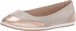 Aerosoles - Women's Get Smart Ballet Flat - Casual Slip-On Shoe with Memory Foam Footbed