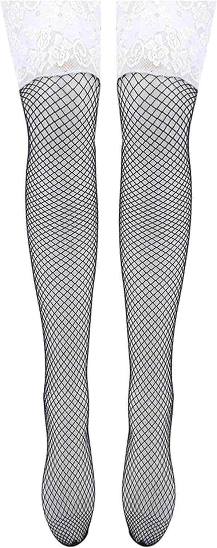 LSSJJ Womens Ladies Stocking Fashion Net Thigh Garter Belt