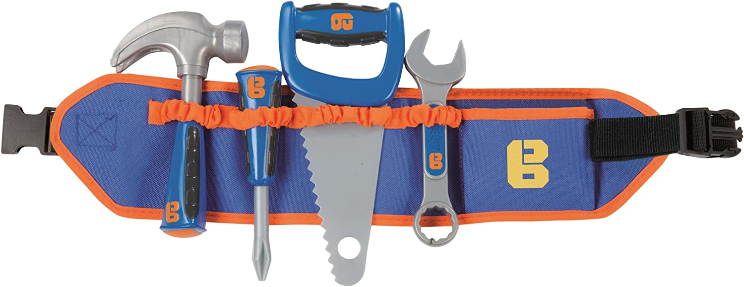 Smoby 360156 Bob The Builder Toolbelt with Tools