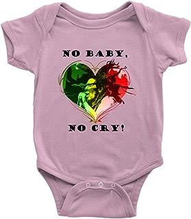 No Baby, No Cry! Baby Onesie Infant Bodysuit Romper