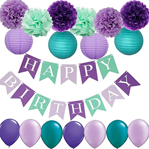 Teal Birthday Decorations: Amazon.com