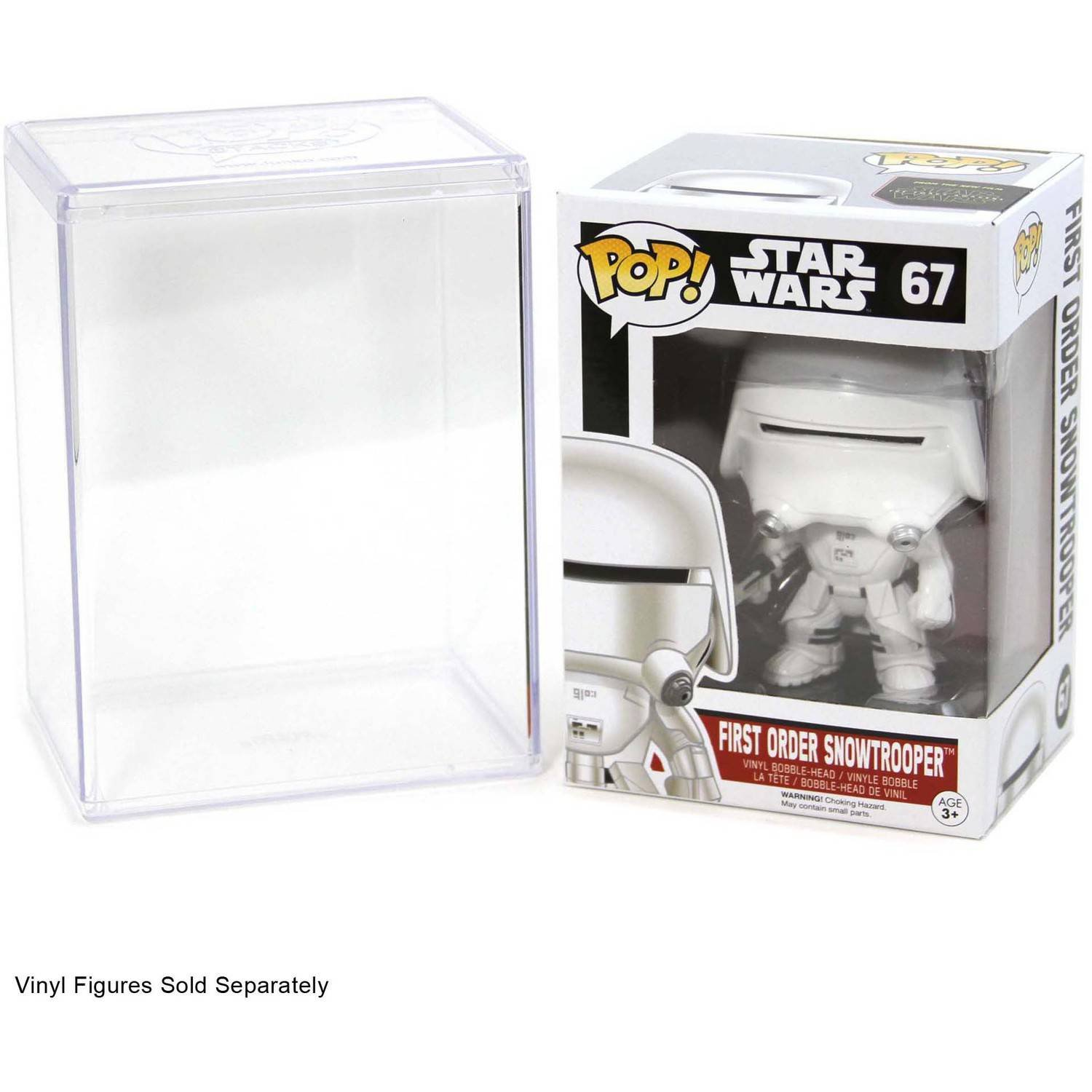 Funko Pop Stacks 6-Pack #1 Seller - Hard Plastic Protector Case for Regular Size Pop Boxed Figures: Amazon.es: Juguetes y juegos